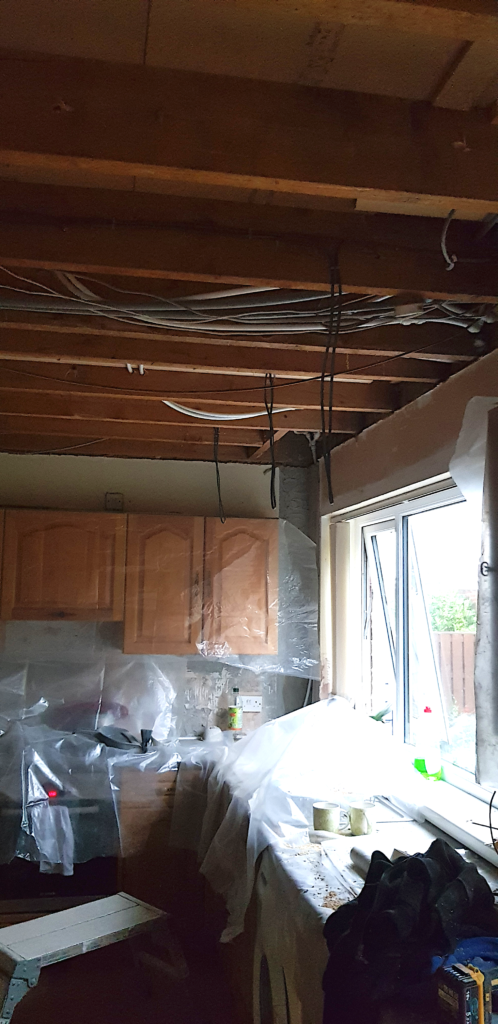 Kitchen Ceiling Renovations 2