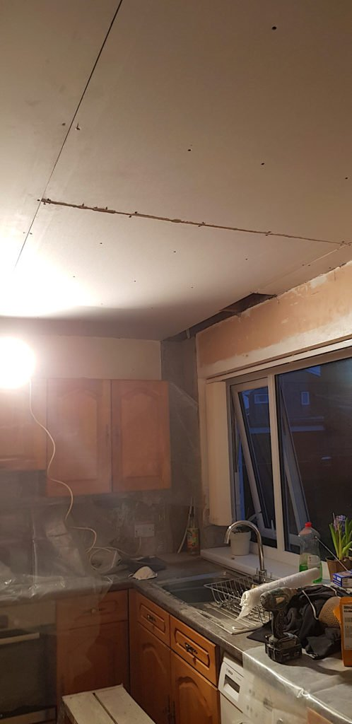 Kitchen Ceiling Renovations 4